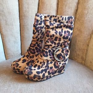 Other - Little Girl's Wedge Boots
